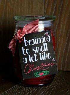 If youre looking for some adorable DIY gifts for teachers,friends,neighbors,etc, head to Design Dazzle for the cutest gift ideas with FREE printable tags! christmas gifts for teachers Neighbor Christmas Gifts, Easy Diy Christmas Gifts, Christmas Gifts For Friends, Neighbor Gifts, Xmas Gifts, Cute Gifts, Christmas Fun, Christmas Presents For Teachers, Christmas Candles