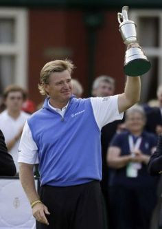 ERNIE ELS   one of South Africa's greatest Golfers.