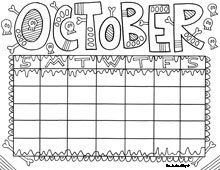 18 Best days and months images | Printable coloring pages, Calendar ...
