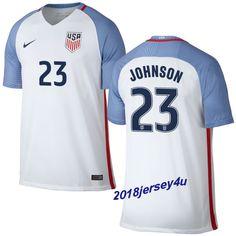 83d1580a3ab Fabian Johnson 23 2016 COPA America Centenario USA Men s Home Soccer Jersey  Kyle Beckerman