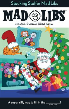 Stocking Stuffer Mad Libs by Leigh Olsen, Paperback Christmas Carol, Christmas Themes, Ranger, Christmas Clearance, Coupon Queen, Stocking Stuffers For Kids, Mad Libs, Friends Laughing, Gift Finder