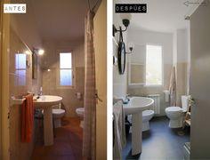 Baño reformado new vintage
