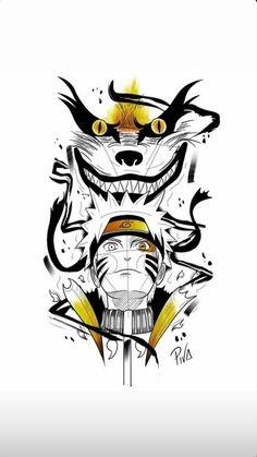 Andressa Rafaela on TikTok Naruto Tattoo, Anime Tattoos, Manga Tattoo, Tattoo Art, Naruto Sketch, Naruto Drawings, Naruto And Sasuke Wallpaper, Wallpaper Naruto Shippuden, Naruto Fan Art
