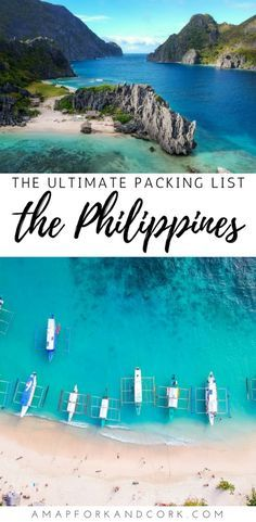What to pack for 2 weeks of backpacking in the Philippines