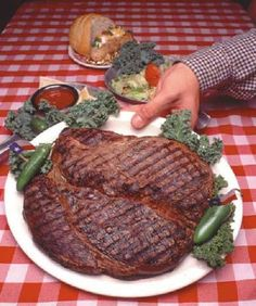I Ve Never Had A 72 Ounce T Bone Steak But Did Drive Past