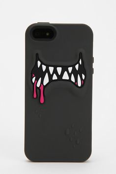 Monster Silicone iPhone 5 Case. blood dripping like silken blood.