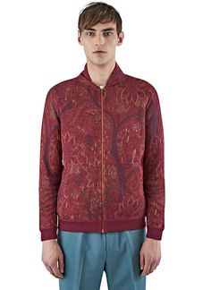 Men's Knitwear - Clothing | Order Now at LN-CC - Woven Knit Bomber Cardigan