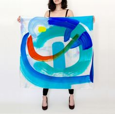Bluebird of Extreme Happiness, Silk Scarf