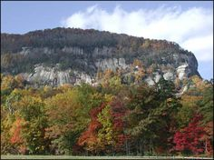 Lake Lure, NC (Rumbling Bald Mountain)