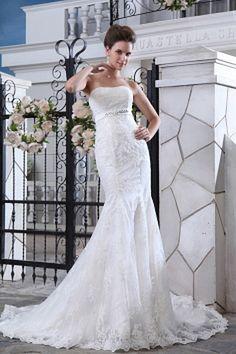 Organza Sweetheart Elegant Bridal Dresses - Order Link: http://www.theweddingdresses.com/organza-sweetheart-elegant-bridal-dresses-twdn0528.html - Embellishments: Flower , Layered , Ruched; Length: Chapel Train; Fabric: Organza; Waist: Natural - Price: 142.67USD