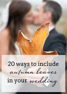 Autumn Leaves Weddin