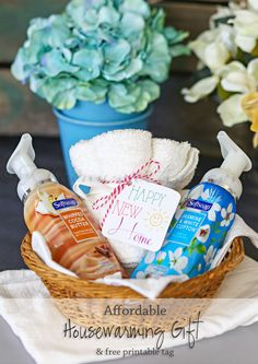 Affordable Housewarming Gift Idea on kleinworthco.com #FoamSensations #ad