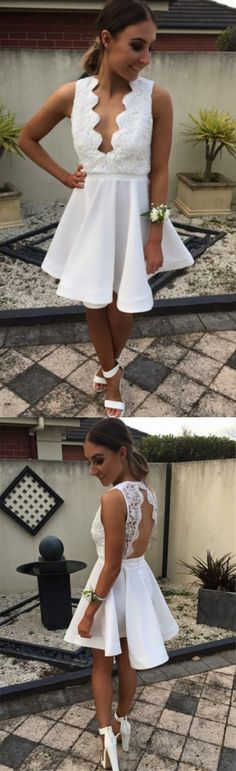 White Homecoming Dresses, Short Homecoming Dresses, Girly Short White Lace Deep V-neck Homecoming Dresses For Teens WF01-187, Homecoming Dresses, White Dresses, Dresses For Teens, White Lace dresses, Lace dresses, Short Dresses, Short White Dresses, Dresses For Homecoming, White Homecoming Dresses, White Short Dresses, Short White Lace dresses, Lace White dresses, Short Lace dresses, White Dresses For Teens, Lace Homecoming Dresses, White Lace dresses Short, Homecoming Dresses Short, L...