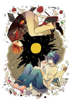 Light and L Lawliet