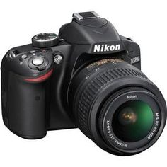 Gently used. Nikon CMOS Digital SLR Camera with AF-S DX VR Nikkor Zoom Lens. zoom Nikon lens with maximum aperture for Nikon digital SLR cameras. Nikon D5100, Nikon Dslr, Reflex Numérique Nikon, Dslr Cameras, Camera Gear, Leica Camera, Film Camera, Pro Camera, Camera Case