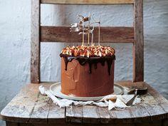 Chokladtårta med brynt maräng   Recept från Köket.se