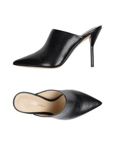 Phillip Lim Women Mules on YOOX. The best online selection of Mules Phillip Lim. YOOX exclusive items of Italian and international designers - Secure payments Women's Mules, Heeled Mules, Leather Sandals, Leather Bag, Kitten Heel Boots, Spike Heels, Lace Up Booties, 3.1 Phillip Lim, Strap Sandals