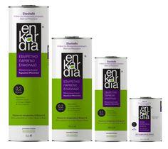typodelic   enkardia evoo Print Box, Conceptual Design, Ui Design, Olive Oil, Packaging Design, Branding, How To Plan, Bottle, Brand Management