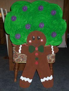 gingerbread plum tree finished...Lisa
