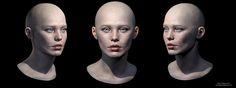 ArtStation - Girl portrait study, Daniel Galanty