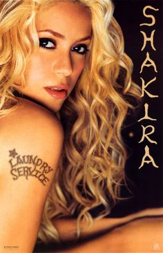 Shakira. This is the last CD I bought from her before she completely changed her style of music.