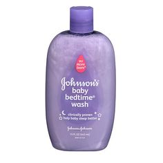 Help your baby wind down to drift off to a better night's sleep with Johnson's Bedtime Moisture Wash. #BRUEaster