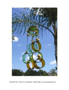 bottle wind chime
