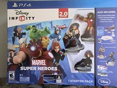 Disney Infinity Marvel Super Heroes Special Value Pack Exclusive for Playstation 4 Video Game *** See this great product.