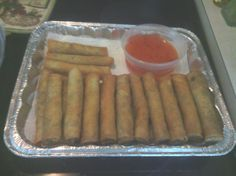 """Lumpia (Beef) Rolls from Food.com: My version on """"How to cook Beef Lumpia?"""" Usually served with Sweet And Sour sauce.Great for a side dish for any occassions. Everytime we have a family get together,they always ask me to bring Lumpia Rolls. I hope you guys like it."""