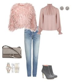 Blush by dalba77 on Polyvore featuring polyvore Related Yves Saint Laurent Chloé fashion style clothing