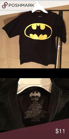 New Boys Batman T shirt Size (4/5) New, boys black Batman t shirt Shirts & Tops Tees - Short Sleeve