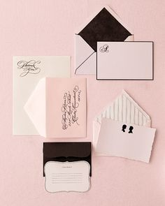 This retro cool combination of pink and black cameo is both flirty and classic. What a perfect way to heat up a wintry wedding!