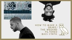 How to make a Drake and The Weeknd filtered synth (OVO Sound) #thatdope #sneakers #luxury #dope #fashion #trending