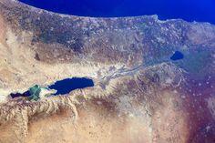NASA astronaut snaps stunning Holy Land photos for Christmas - Science & Medicine - Haaretz.com