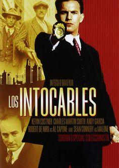 The Untouchables (1987) Andy Garcia, Al Capone, Kevin Costner, Sean Connery, Martin Smith, Film School, Director, Entertaining, Movie Posters