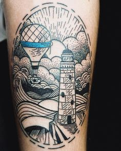 45 Stunning Ocean Tattoo Ideas - Show Your Love for the Sea with a Cute Totem Check more at http://tattoo-journal.com/best-ocean-tattoo-designs-meaning/