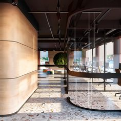 A youthful space full of energy. Office in Italy on Behance