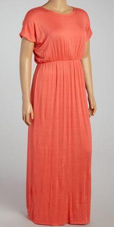 Modest full floor maxi plus size dress with sleeves | Mode-sty tznius mormon jewish lds christian pentecostal hijab muslim islamic pentecostal