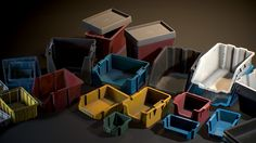 A collection of realistic Plastic Crates aimed to fill in-game environments.