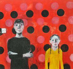 Untitled, 2013, oil on canvas, 244 x 244 cm, Shani Rhys James