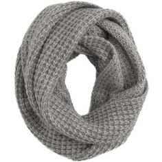 J.Crew Waffle-stitch infinity scarf (would do broken rib stitch)