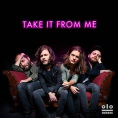 Take It From Me - KONGOS Don't miss their show in Philly this weekend 10/16 @ Electric Factory :)