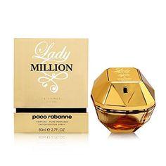 Parfum Paco Rabanne Lady Million 80ml - 2.7 oz Women's Eau de Parfum NEW #PacoRabanne