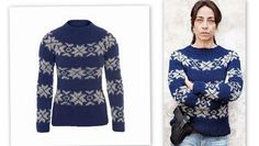 Bilderesultat for norske strikkemønstre Lund, Knitting Patterns, Knitting Ideas, Christmas Sweaters, Knit Crochet, High Neck Dress, Long Sleeve, Mens Tops, Dresses
