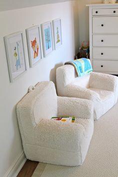 Simcoe Street: Benjamin's Toddler Room - Reading nook