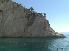 Swimming from Kithros Island to Meganissi