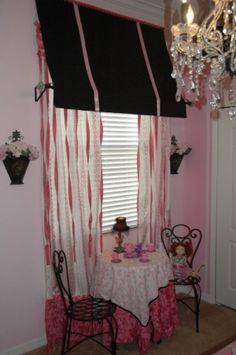 Paris in Spring, Here is a bedroom I designed for a little girl who loves everything Paris.  Dress up and pretending to eat outside at a cafe were her 2 requests.  I hope you love these pics as much as she loves her new room., Girls Rooms Design