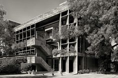 Le Corbusier . Mill Owners' Association . Ahmedabad (4)