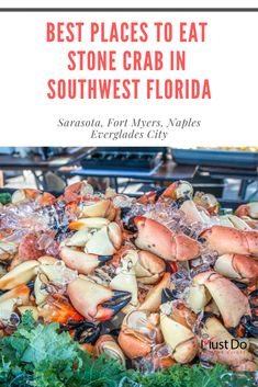 Best Places to eat Stone Crab in Southwest Florida including Sarasota, Fort Myers, Naples and Everglades City. Must Do Visitor Guides | MustDo.com #stonecrab #fortmyersbeach #naples #sarasota #florida #crabclaws #evergladescity #mustdovisitorguides Seafood House, Best Seafood Restaurant, Seafood Market, Florida Vacation Spots, Places In Florida, Florida Travel, Italy Vacation, Islamorada Florida, Naples Florida