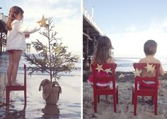 Beach Christmas ideas - seriously, one year I am going to make this happen!